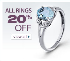 Save 20% on Jewelry Rings from VistaBella