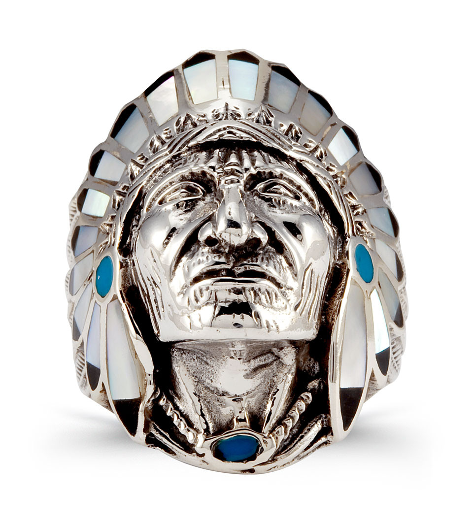 native american culture with this gorgeous ring this native american